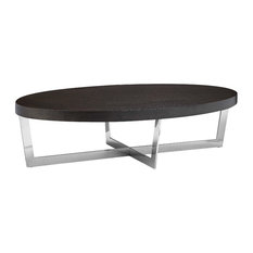 Pangea Home   Pearl Coffee Table, Espresso   Coffee Tables