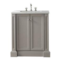 Bathroom Vanity Quartz Top quartz-top bathroom vanities   houzz