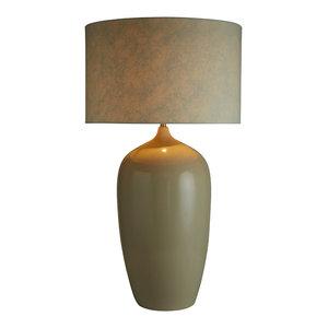Alexander Table Lamp, Cream