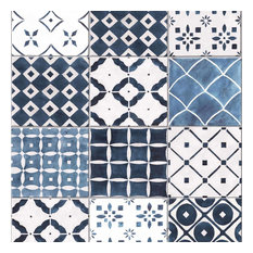 Graham and Brown 103852 Strata Porches Tile Imitating and Geometric Paste-the-W