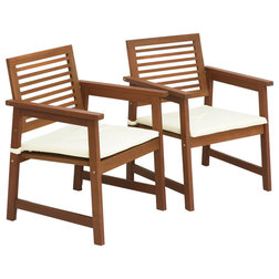 Transitional Outdoor Lounge Chairs by Furinno