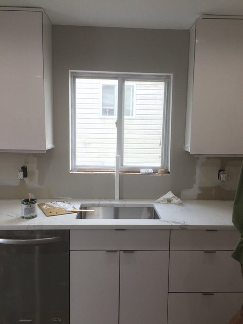 Center Kitchen Faucet To Window Or Sink That S Slightly