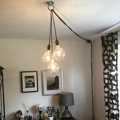 lighting in rental apartment with no overhead light rh houzz com add ceiling light without wiring install ceiling light without wiring