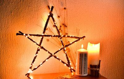 DIY : Fabriquez une étoile lumineuse en bois pour Noël