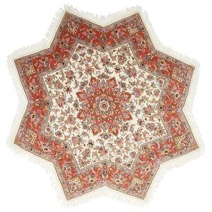 """Persian Rug Tabriz 50Raj 6'7""""x6'7"""""""