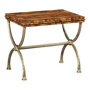 Jonathan Charles Argentinian Walnut Rectangular Side Table