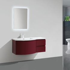 - Prospero wall hung vanity - Bathroom Vanities