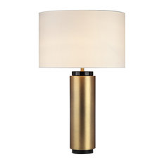 50 most popular brass table lamps for 2018 houzz