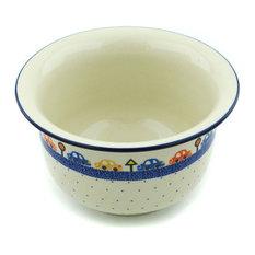 "Polmedia Polish Pottery 8"" Stoneware Planter"