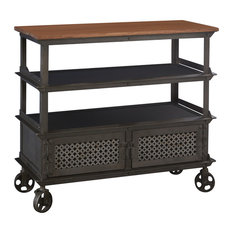 Davis Reclaimed Metal Console Table
