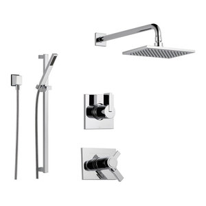 Delta Vero Collection Chrome Finish Custom Shower System SS17T5384