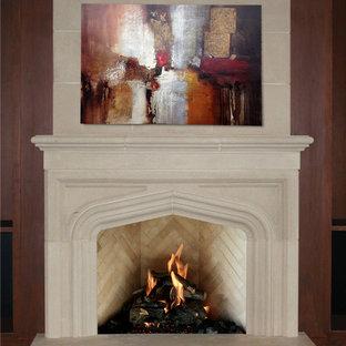 Tudor /Lancet Fireplace Mantel