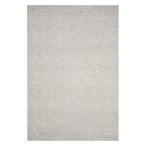 "Safavieh Carnegie Cng621G Rug, Light Gray/Cream, 3'0""x5'0"""