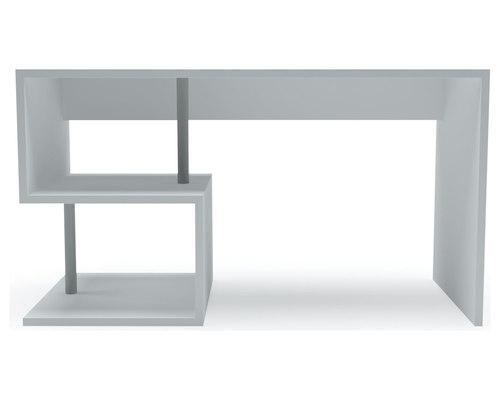 Esse bureau blanc mat style moderne revue de presse de la session