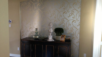 Entry Hall Niche Wallpaper