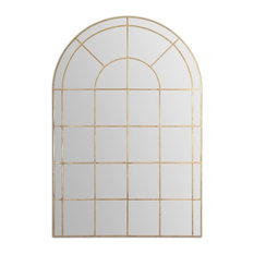 """Uttermost - Oversize 66"""" Palladian Arch Wall Mirror - Wall Mirrors"""