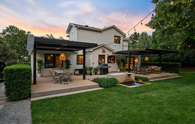 Yard of the Week: Stylish Zoned Backyard With Ambiance