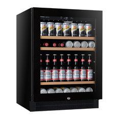 Vintec 100 Cans Single Zone Beverage Fridge Beer And Wine Fridges