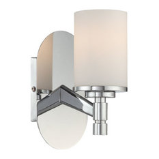 Lina 1 Light Wall Sconce in Chrome