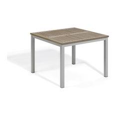 "Paphos 39"" Square Dining Table, Vintage Tekwood"