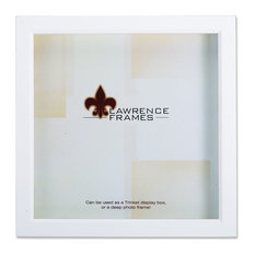lawrence frames white wood treasure box shadow box 12x12 picture frame picture frames