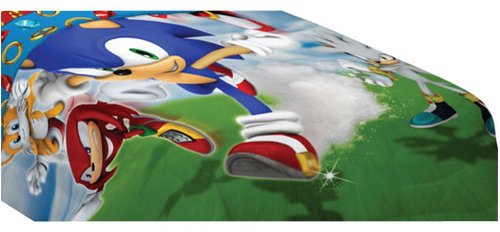 Franco Manufacturing Company Inc Sonic Hedgehog Sd Video Twin Bed Comforter Kids Bedding