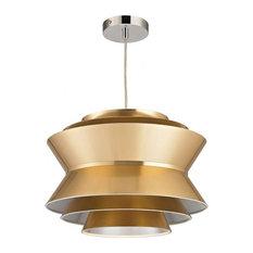 Godnik One Light Pendant Gold