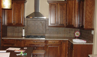 Custom-Designed and Installed Cherry Kitchen Cabinetry