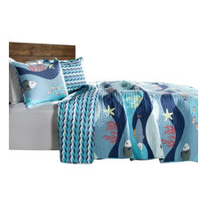 Blue Quilts And Bedspreads Houzz