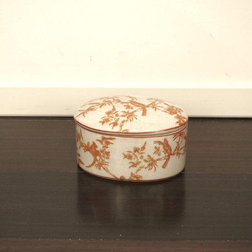 陶器小物入れ - 装飾ボックス