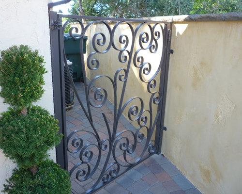 Metal Patio Gates