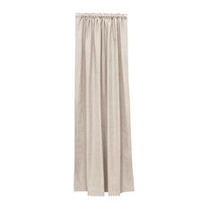"Blackout Curtains, Linen Talc, 50""x84"""