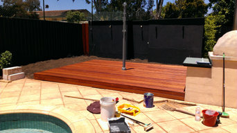 New decking for Hazelwood Park