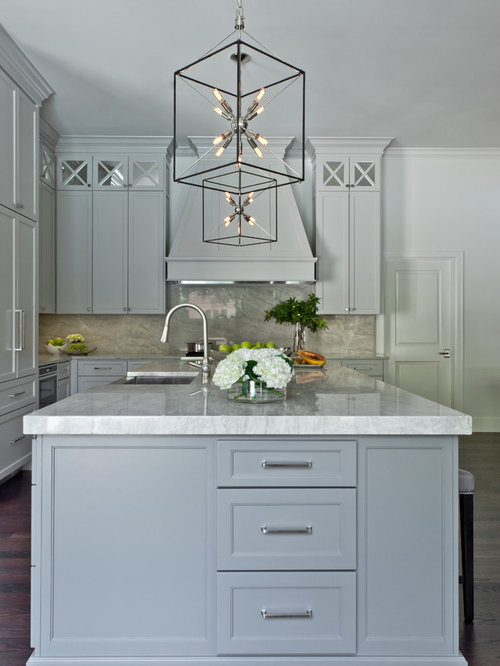 Kitchen With Tall Ceilings