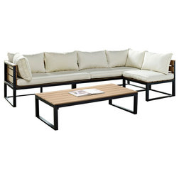 Contemporary Outdoor Lounge Sets By Walker Edison