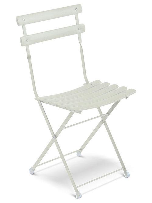 Arc En Ciel Klappstol, Vit - Udendørs spisebordsstole