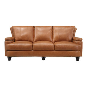 Delilah Apartment Size Sofa Midcentury Upholstery