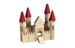 Guidecraft Hardwood Table Top Castle Blocks