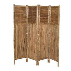 4-Panel Bamboo Screen Hor/Ver