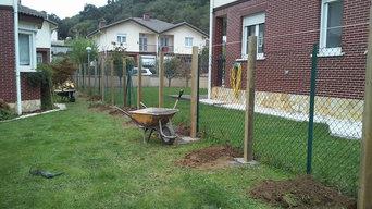 Cerramiento de jardín
