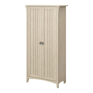 Salinas Kitchen Pantry Cabinet With Doors, White