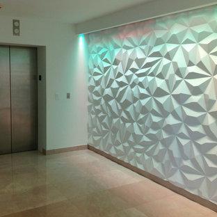 wavy wall panels   houzz