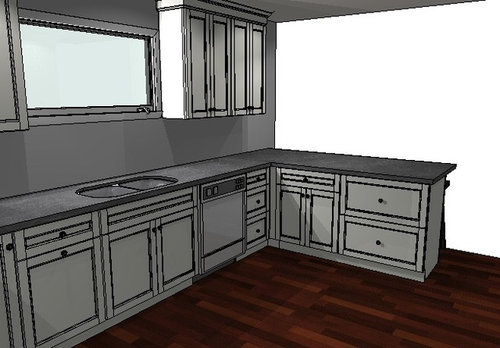 Kitchen Design Lower Cabinets With Pull Outs Vs Drawers