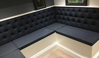 Custom made seating area