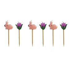 Party Candles, Spring Tulips