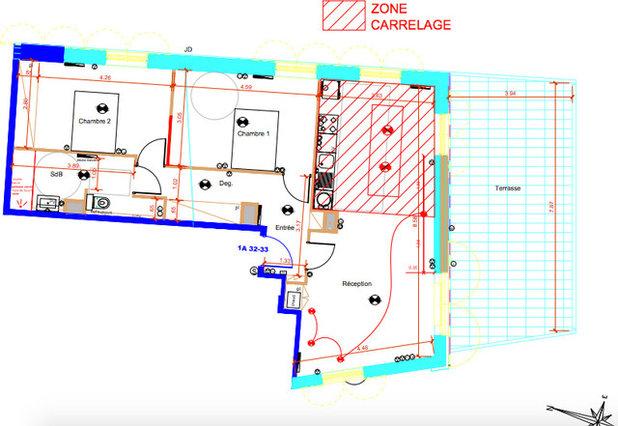 Avant/Après: A Bordeaux, un appart neuf de 80m2 bien personnalisé