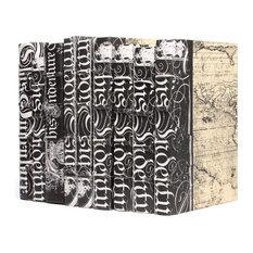 Linear Foot of Black Bold-Spenserian Books
