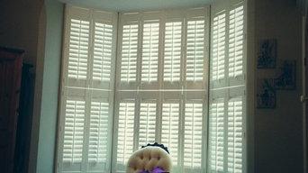 Bay window, tier on tier shutters