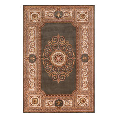 """Maison Hand-Tufted Rug, Green, 7'9""""x7'9"""" Square"""