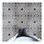 Moroccan Magic Tile Stencil, DIY Cement Tiles, Moroccan Tile Stencils, Small